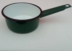 steelpannetje - groen - 600 ml