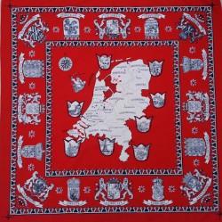 Rode zakdoek - Nederland - 52 x 52 cm