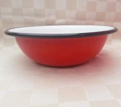 schaal/kom - rood - 1 liter