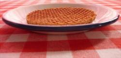 schoteltje - wit met blauwe rand - 13 cm