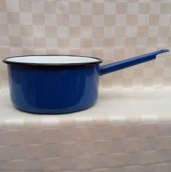 steelpan - blauw - 2,25 liter / 2250 ml