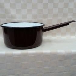 steelpan - bruin - 2,25 liter / 2250 ml