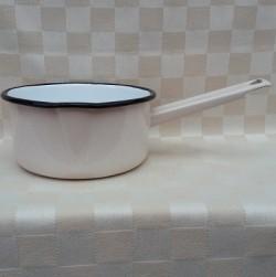 steelpan - creme - 1 liter - met tuitje