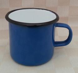 drinkmok - blauw - 8 cm