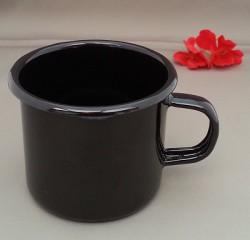 drinkmok -zwart - 8 cm