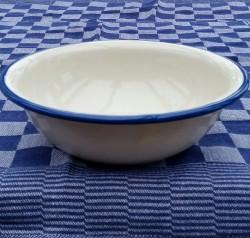schaal/kom - crème - 1 liter