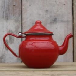 theepotje - donkerrood - 450 ml