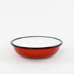 schaaltje/kom - rood - laag model
